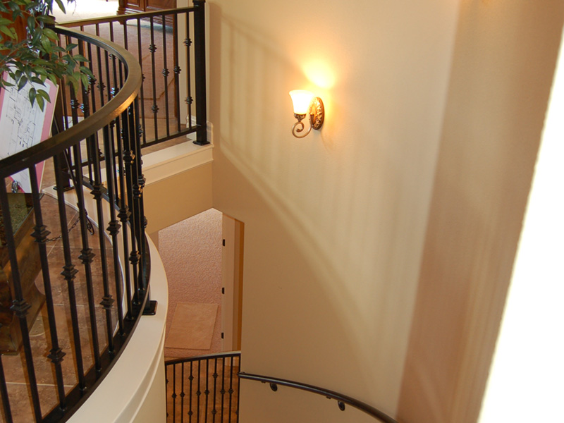 European House Plan Stairs Photo - 051D-0994 | House Plans and More