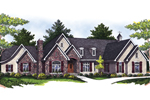 Massive Ranch Home With European Style And Charm