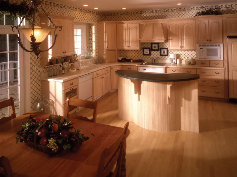 Country French House Plan Kitchen Photo 02 - Chalet Style Home | 4 Bedroom 2 Story House Plan