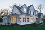 Windows Enhance Façade Of This Home Design