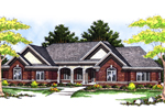 Traditional Ranch With Symmetrically Pleasing Exterior Design