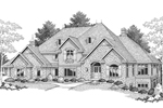 House Plan Front of Home 051S-0049