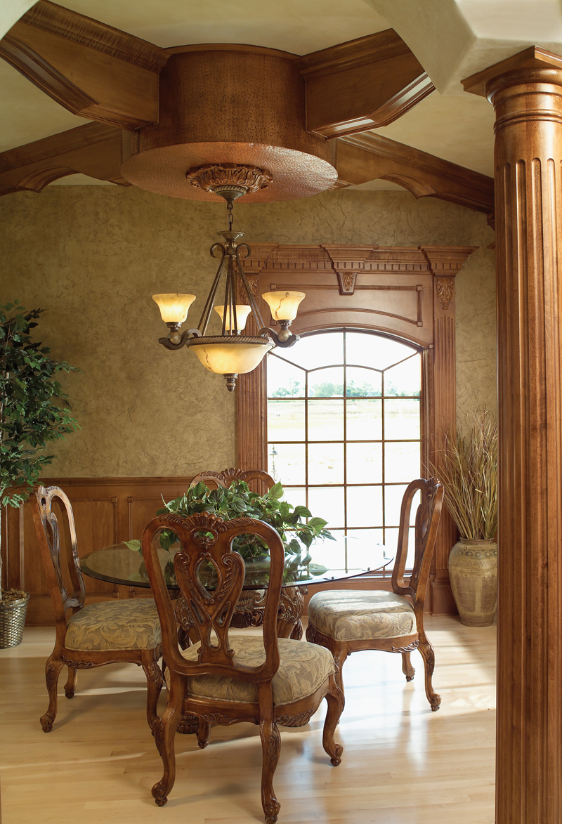 European House Plan Dining Room Photo 01 - Parklawn Luxury Home 051S-0053 | House Plans and More