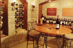 European House Plan Wine Cellar Photo - Parklawn Luxury Home 051S-0053 | House Plans and More