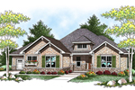 House Plan Front of Home 051S-0071