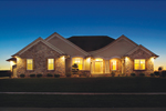 Modern House Plan Front of House 051S-0076