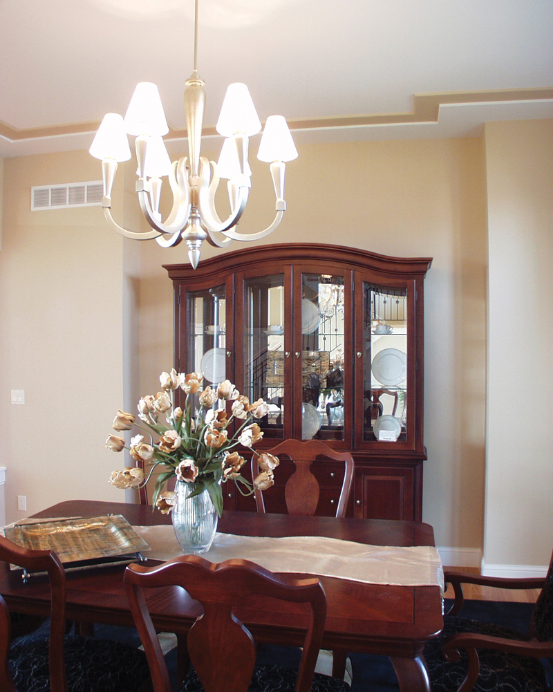 Colonial House Plan Dining Room Photo 02 - Roberto Traditional Home 051S-0093 | House Plans and More