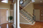 Colonial House Plan Stairs Photo 01 - Roberto Traditional Home 051S-0093 | House Plans and More