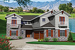 European House Plan Front of House 051S-0095
