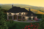 Country French House Plan Front of House 051S-0097