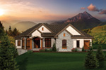 European House Plan Front of House 051S-0102
