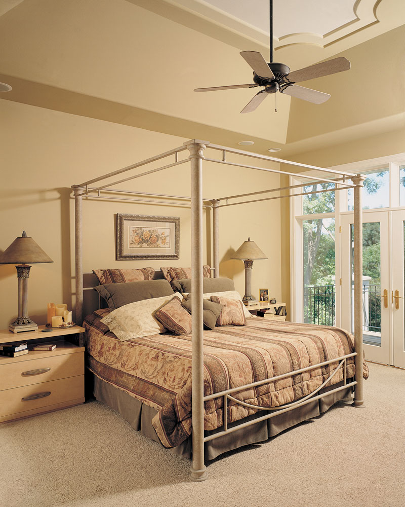 Traditional House Plan Bedroom Photo 01 - Talia Stucco Luxury Home 051S-0103 | House Plans and More