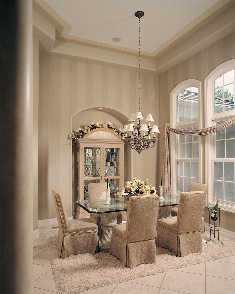 Traditional House Plan Dining Room Photo 01 - Talia Stucco Luxury Home 051S-0103 | House Plans and More