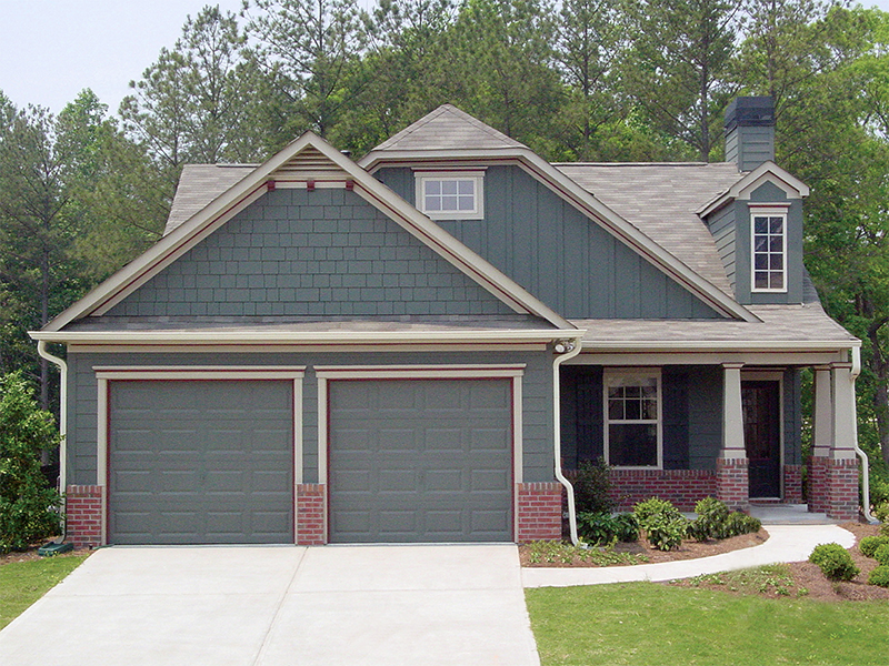 Shingle House Plan Front of Home - Prichard Traditional Ranch Home 052D-0019   House Plans and More