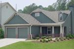 Country House Plan Front Photo 01 - Prichard Traditional Ranch Home 052D-0019 | House Plans and More