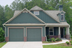 Country House Plan Front Photo 02 - Prichard Traditional Ranch Home 052D-0019 | House Plans and More