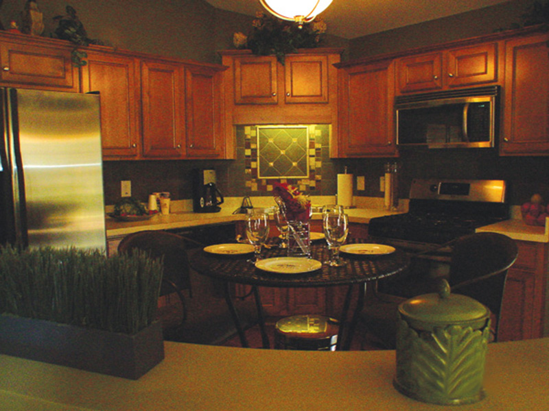 Country House Plan Kitchen Photo 01 - Prichard Traditional Ranch Home 052D-0019 | House Plans and More