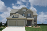 Traditional House Plan Front of House 052D-0021