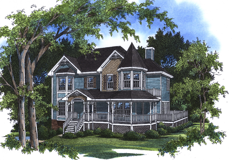 Florent Victorian Home Plan 052d 0071 House Plans And More