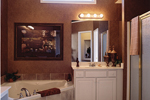 Shingle House Plan Bathroom Photo 01 - Farmers Mill Country Home 052D-0078 | House Plans and More