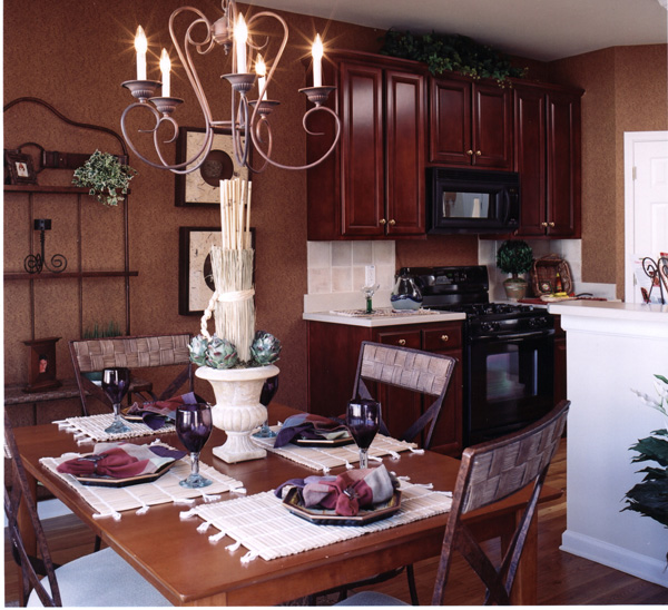 Shingle House Plan Kitchen Photo 01 - Farmers Mill Country Home 052D-0078 | House Plans and More