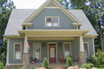 Country House Plan Front of House 052D-0114