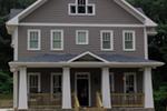 Farmhouse Plan Front of House 052D-0119