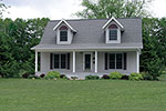 Home With Quaint Exterior And Full Front Porch