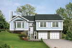 Ranch House Plan Front of House 053D-0032
