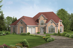 Elegant Two-Story Stucco Home With Great Curb Appeal And Side Entry Garage