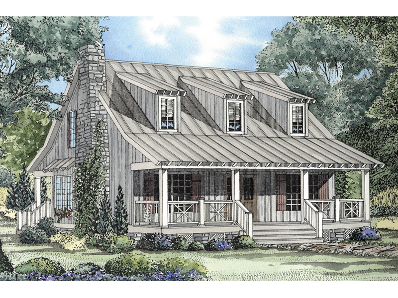 Edelen Cabin Cottage Home Plan 055d 0064 House Plans And More,5 Bedroom Ranch House Plans With Basement