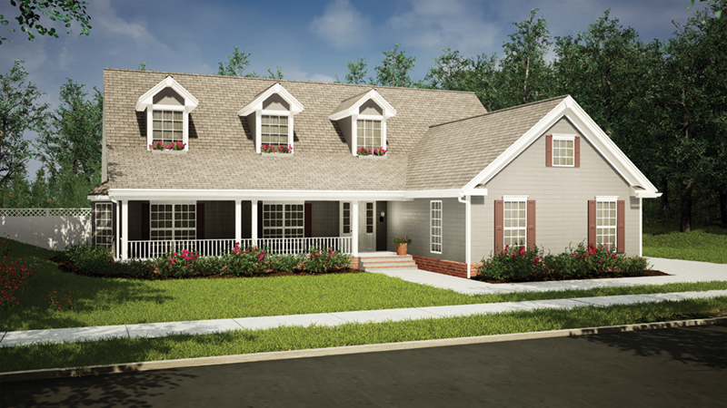 Delmont Country Home Plan 055D-0193 | House Plans and More on rambler waterfront house plans, rambler open floor plans, rambler style house plans,