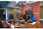 Luxury House Plan Dining Room Photo 01 - Denbeigh Traditional Home 055D-0202 | House Plans and More