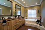 Luxury House Plan Master Bathroom Photo 01 - Denbeigh Traditional Home 055D-0202 | House Plans and More