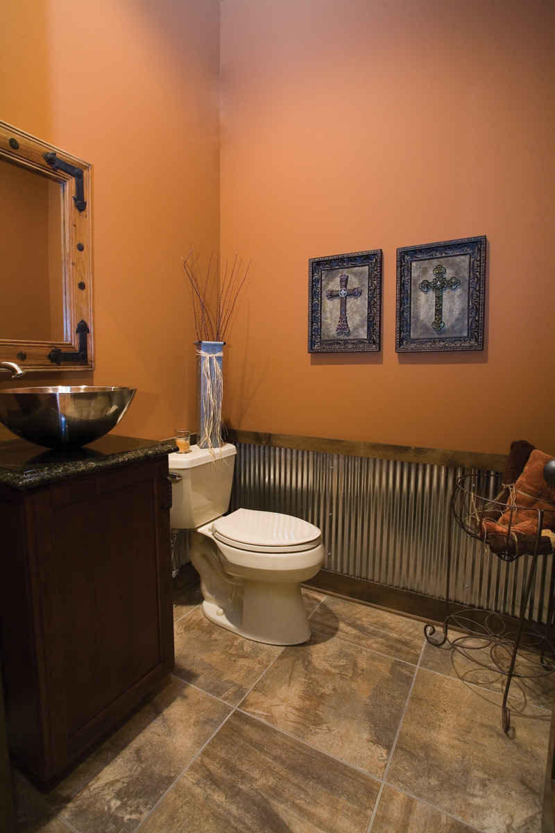 Shingle House Plan Bathroom Photo 02 - Charlevoix Creek Country Home 055D-0215 | House Plans and More