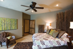 Shingle House Plan Bedroom Photo 01 - Charlevoix Creek Country Home 055D-0215 | House Plans and More