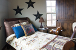 Shingle House Plan Bedroom Photo 02 - Charlevoix Creek Country Home 055D-0215 | House Plans and More