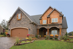 Traditional Country Home With Craftsman Style