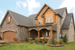 Shingle House Plan Front Photo 02 - Charlevoix Creek Country Home 055D-0215 | House Plans and More