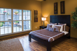 Shingle House Plan Master Bedroom Photo 01 - Charlevoix Creek Country Home 055D-0215 | House Plans and More