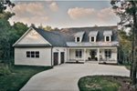 Craftsman House Plan Front Photo 04 - Bellmont Terrace Craftsman Home 055D-0342 | House Plans and More