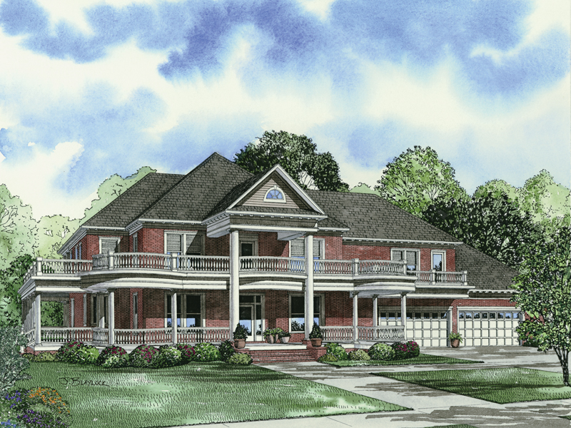 Keaton Plantation Luxury Home Plan 055d 0745 House Plans And More