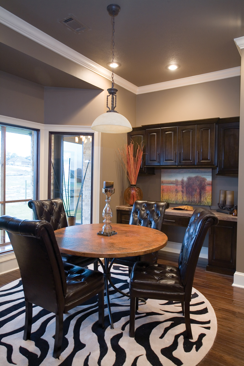 Traditional House Plan Kitchen Photo 01 - Luxury One Story House | Traditional Ranch House