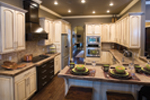 Traditional House Plan Kitchen Photo 02 - Luxury One Story House | Traditional Ranch House