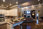 Traditional House Plan Kitchen Photo 03 - Luxury One Story House | Traditional Ranch House