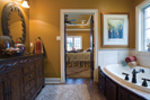 European House Plan Master Bathroom Photo 01 - Bergamo Manor Luxury Home 055D-0817 | House Plans and More