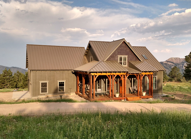 Cabin & Cottage House Plan Front of Home - Silvercrest Craftsman Cabin Home 055D-0891 | House Plans and More