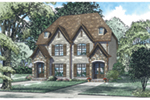 English Cottage House Plan Front of House 055D-0931