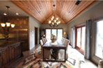 Contemporary House Plan Dining Room Photo 01 - Macedonian Escape Ranch Home 055D-0932   House Plans and More