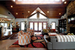 Contemporary House Plan Great Room Photo 02 - Macedonian Escape Ranch Home 055D-0932   House Plans and More